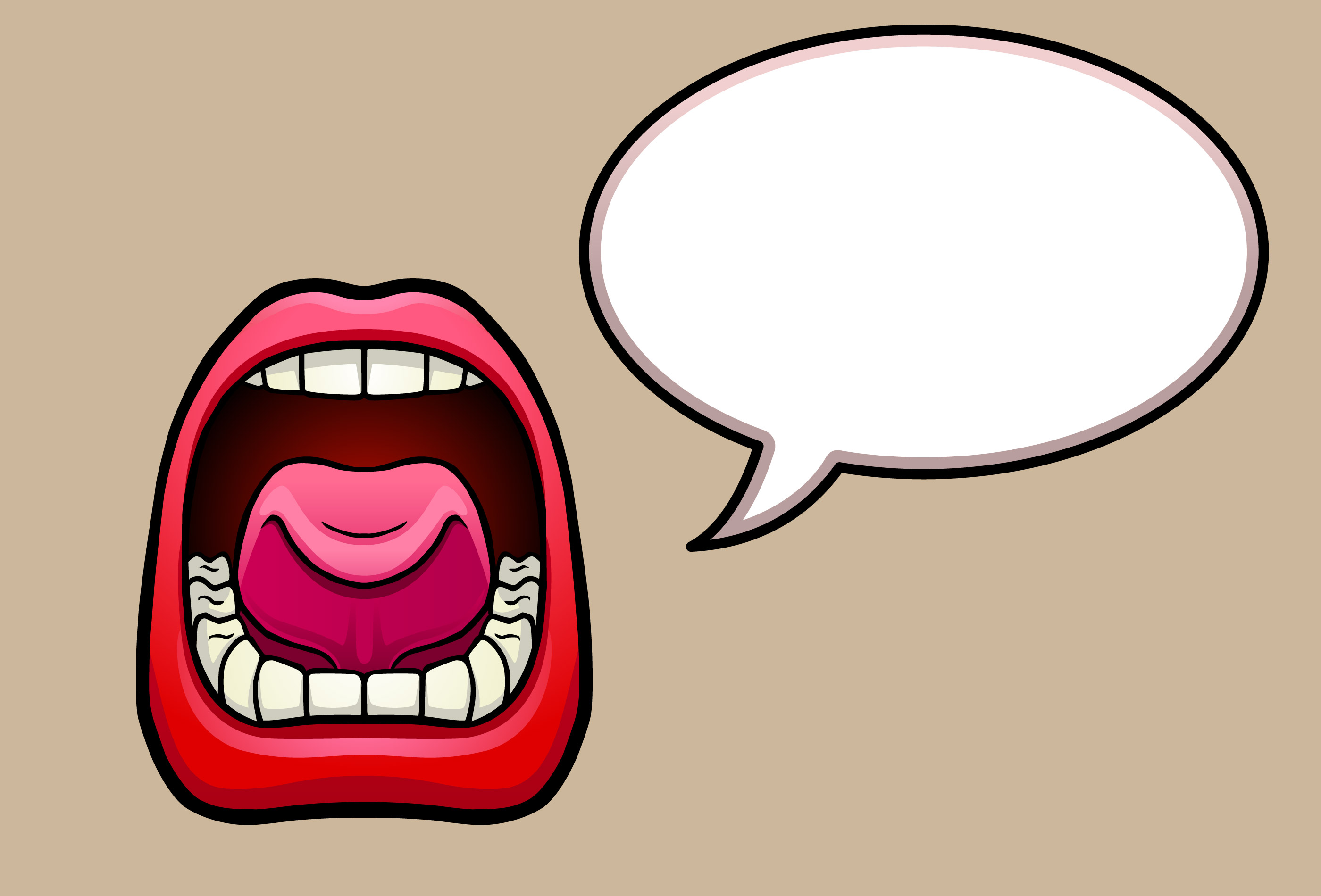 Cartoon Mouth Orange Tongue besides Slime Clipart also A Cartoon Of A Cute Young Girl With Her Mouth Wide Open Gm692118710 127706917 also Person With Speech Bubble further Motor Mouth 20020552. on free clipart talking mouth