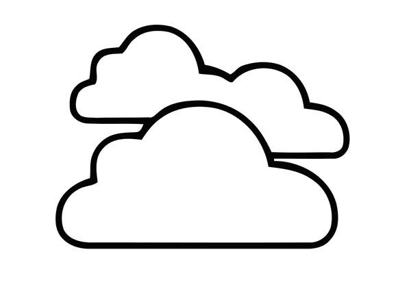 clouds for coloring clipart best