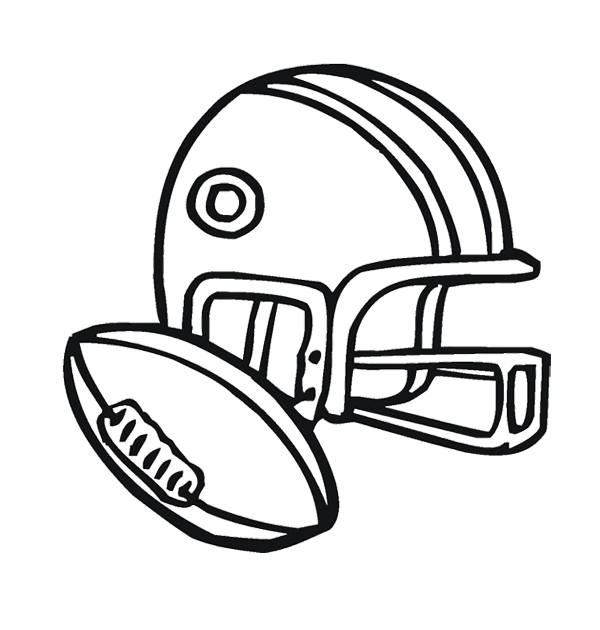 Carolina football helmet clipart best for Panthers football coloring pages