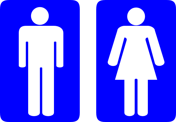 Wc and restroom signs / Workers compensation and restroom signs