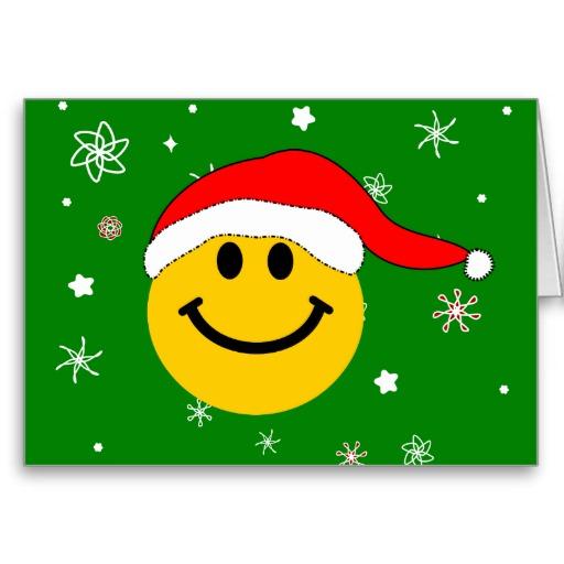 clip art christmas smiley face - photo #19