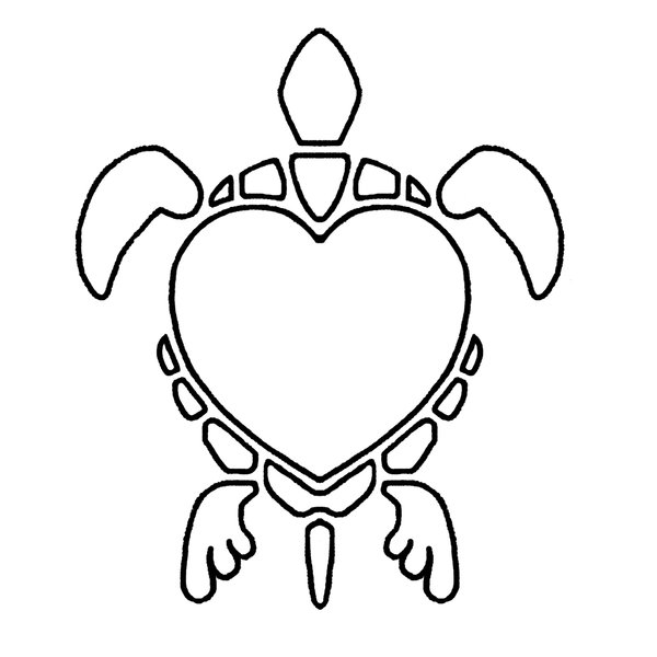 Simple Heart Line Art : Line drawing heart clipart best