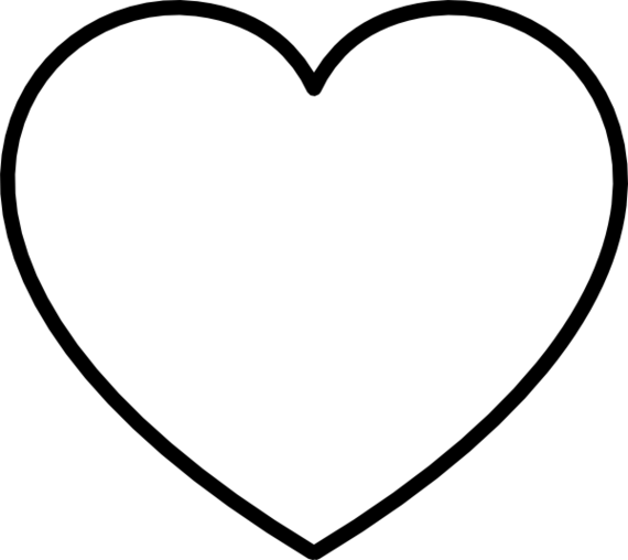 Heart clipart black and white black and white hearts clip art ...