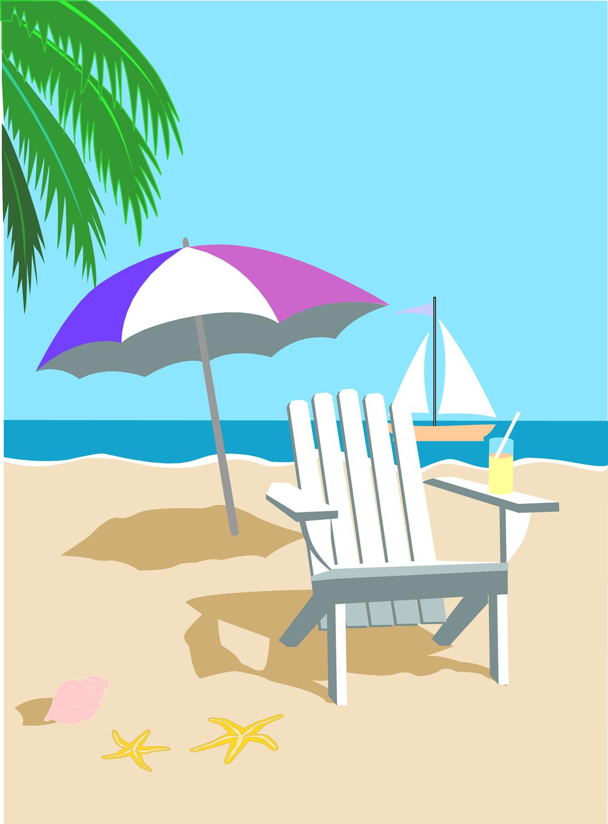 summer beach clip art clipart best