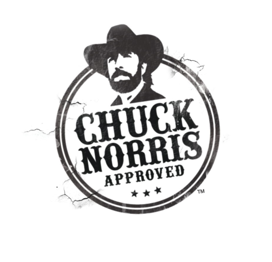 chuck norris approved stamp - photo #2