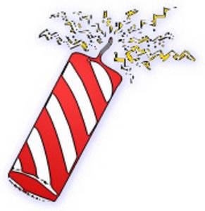 Firecracker Cli... Fireworks Clip Art