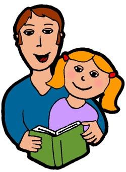 Parent+child+reading+clipart - ClipArt Best
