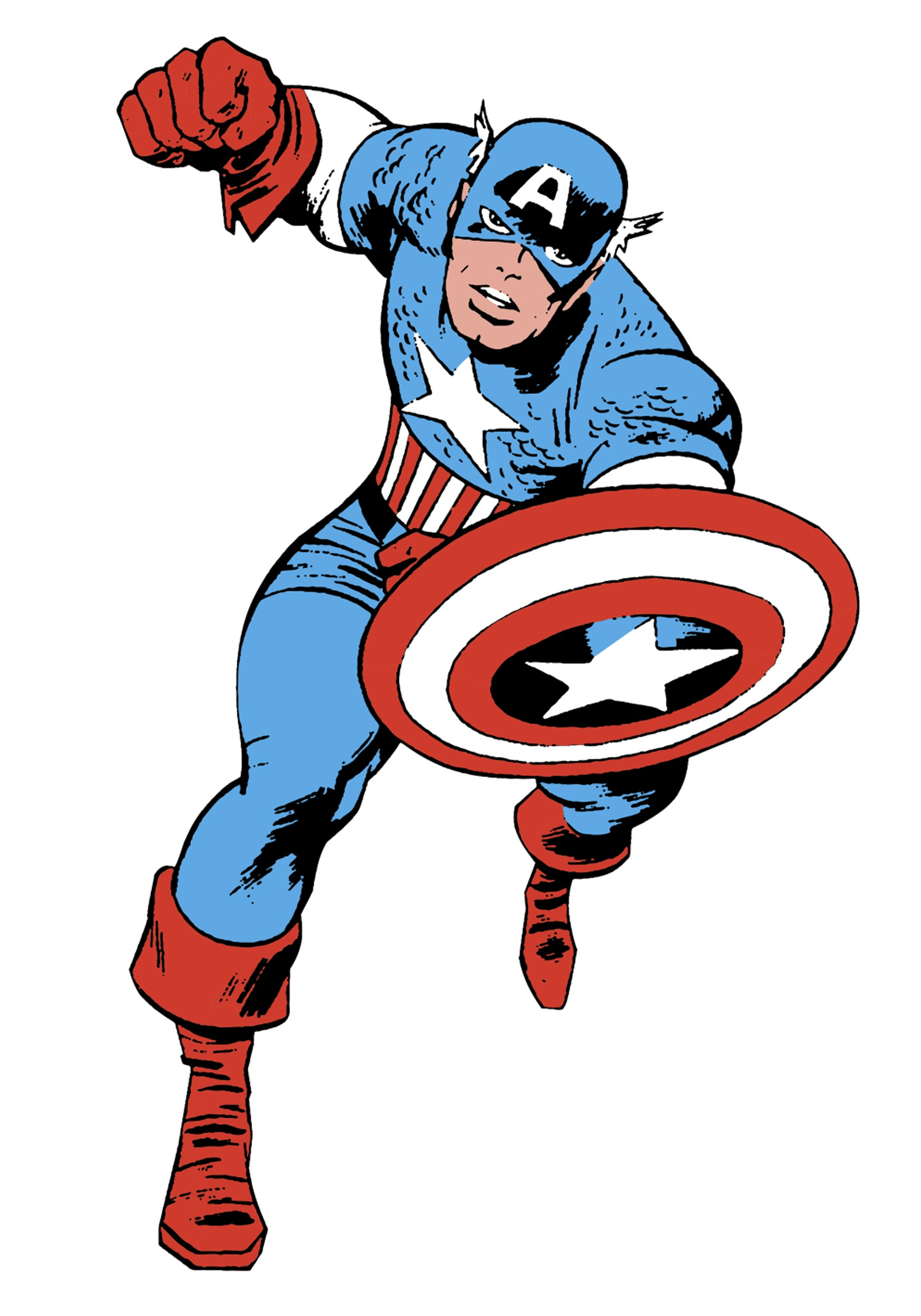 captain america the american superhero