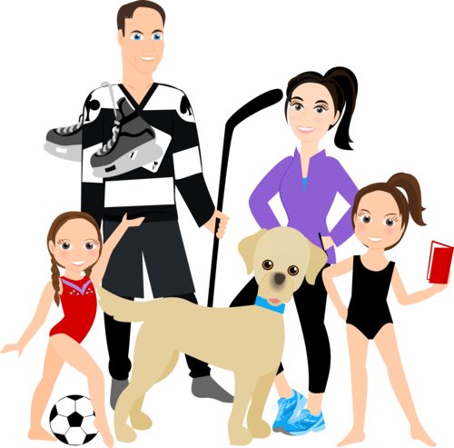 family of 5 clipart best