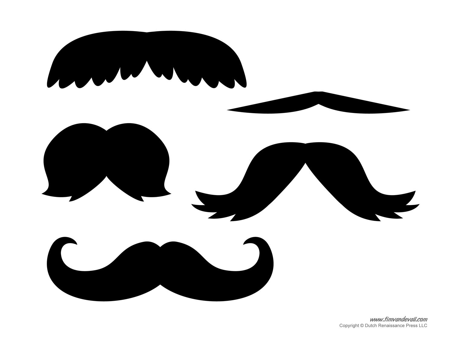 Beard Template Printable - ClipArt Best