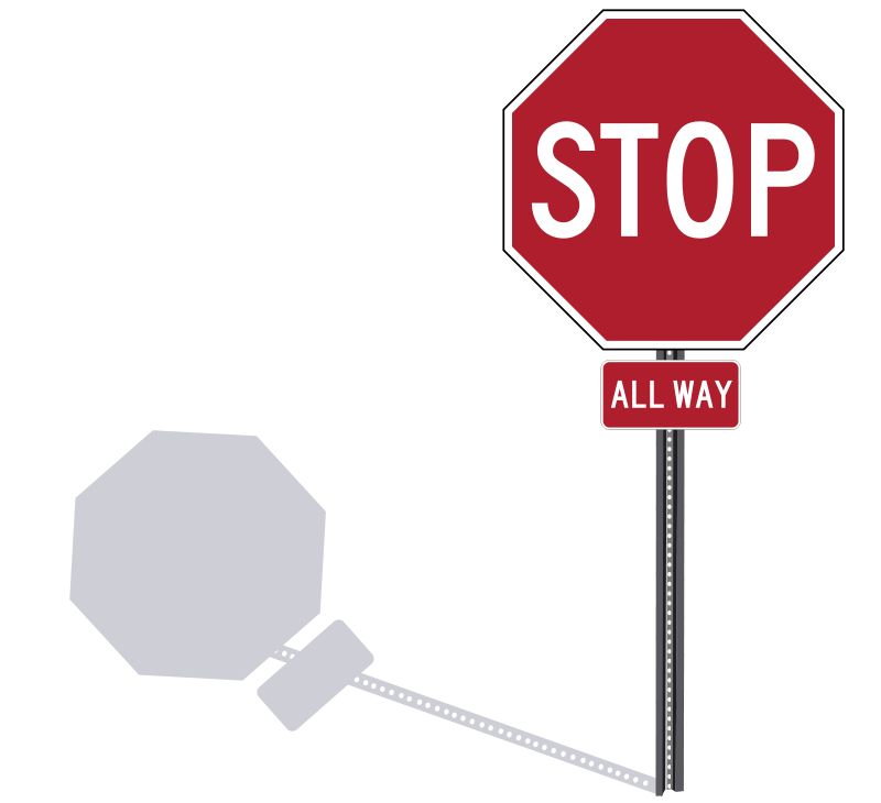 Clip Art Stop Sign Clipart blank stop sign clip art clipart best clipart