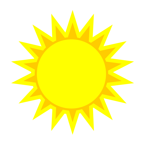 Clipart Images Of Sun