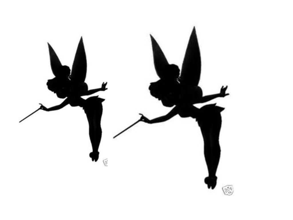silhouette tinkerbell clipart best