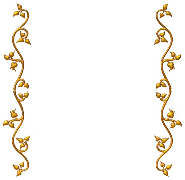 Real Gold Design Border - ClipArt Best
