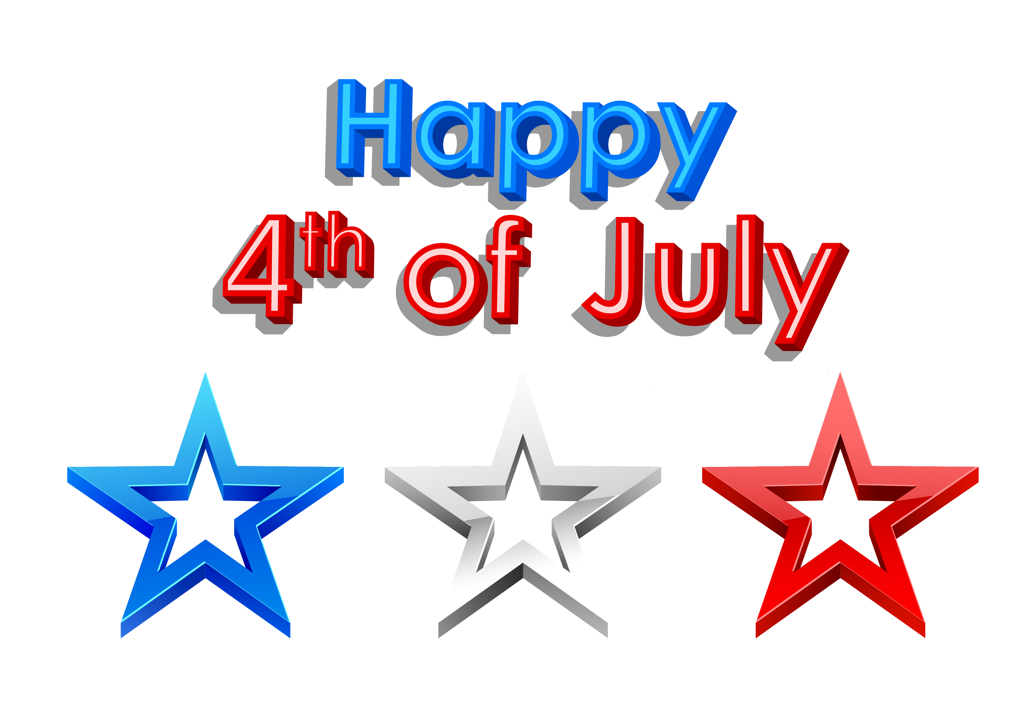 4th Of July Free Clip Art - ClipArt Best