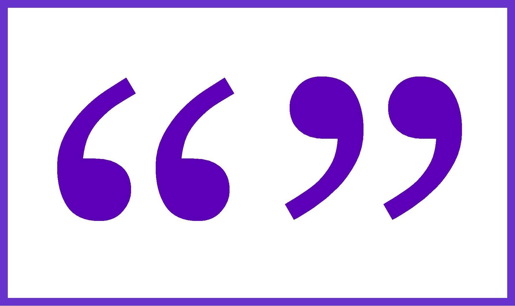 Quotation Marks Clipart Best