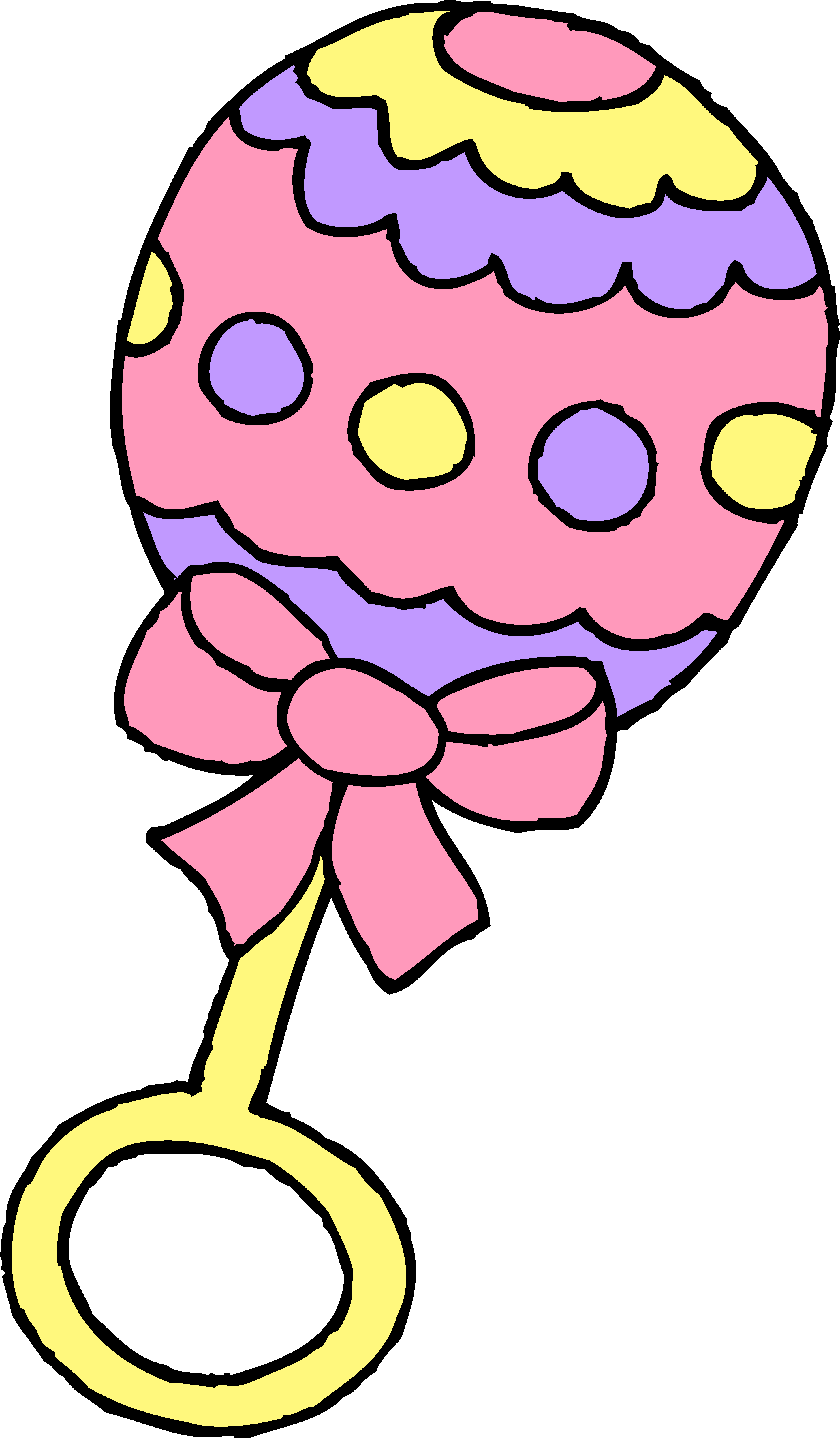 Pink Baby Bottle Clip Art - ClipArt Best