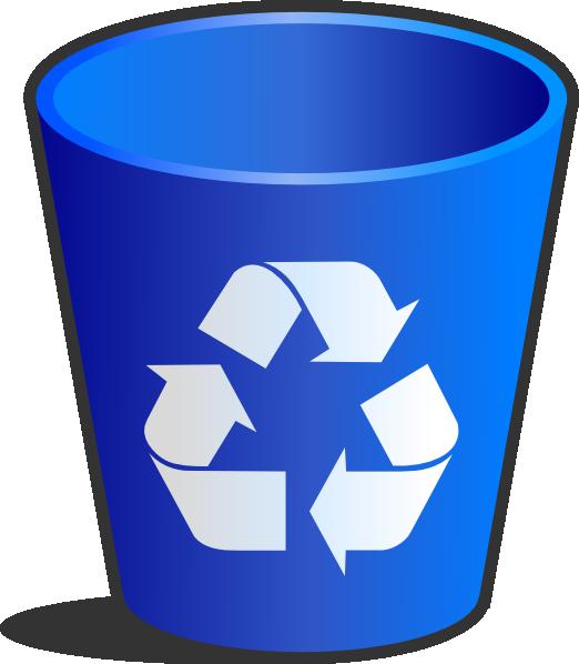 Recycle Bin Clip Art at Clker.com - vector clip art online ...