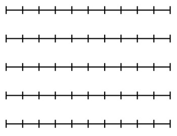 Number Names Worksheets : number line printable ~ Free Printable ...