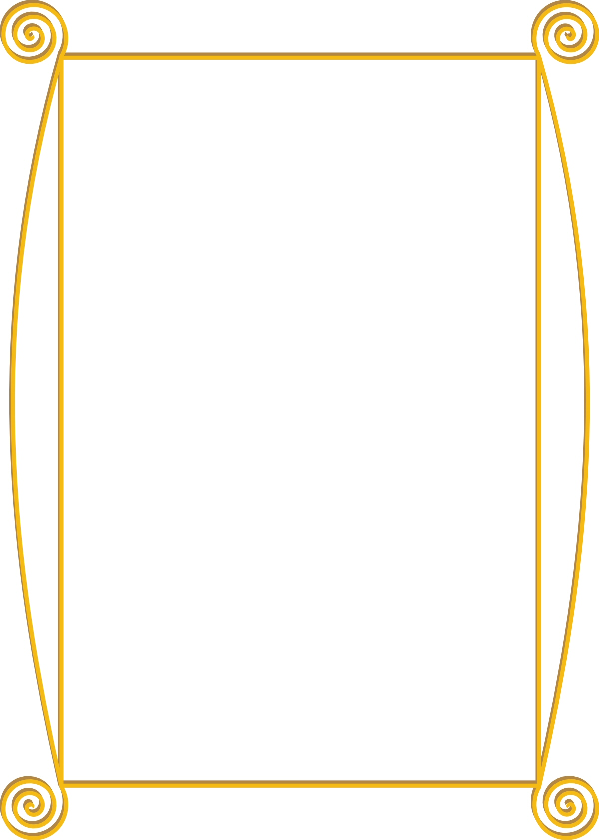 Fancy Gold Border Fancy Gold Border Clipart