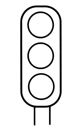 Traffic Signs Coloring Pages.Pedestrian Crossing Coloring ...