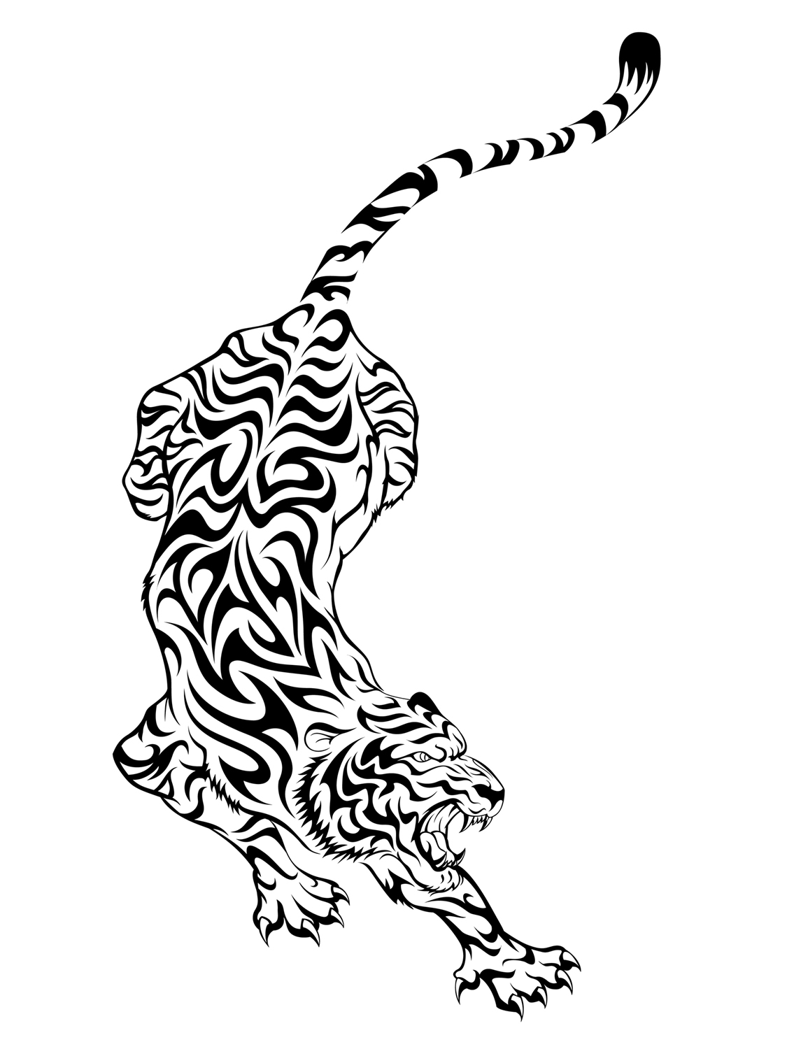 Animal Tribal Designs ClipArt Best