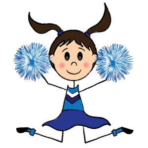 Cheer Leader Cartoon - ClipArt Best