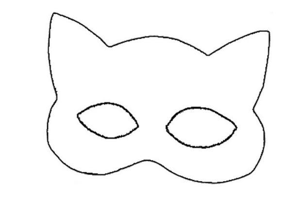 Mask template jpeg clipart best for Caterpillar mask template