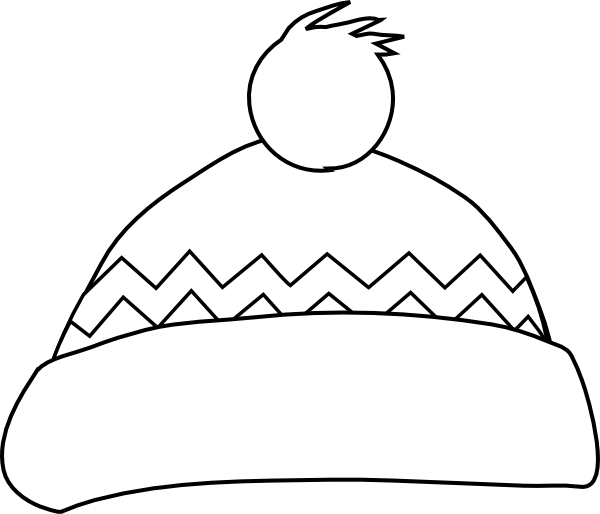 Chef Hat Outline