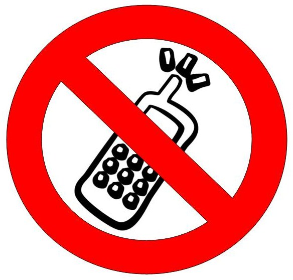 No Cell Phones Image - ClipArt Best