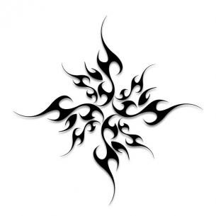 Free Star Tattoo Designs To Print - ClipArt Best