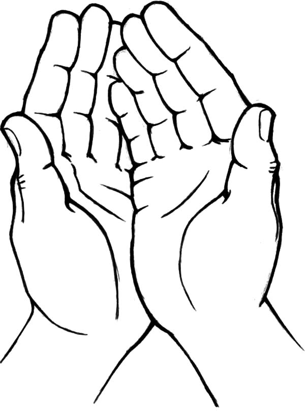 hands coloring pages - photo#19