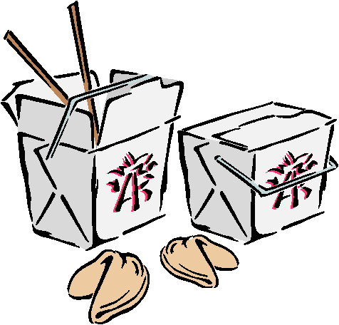 Clip Art Chinese Food Take Out Clipart