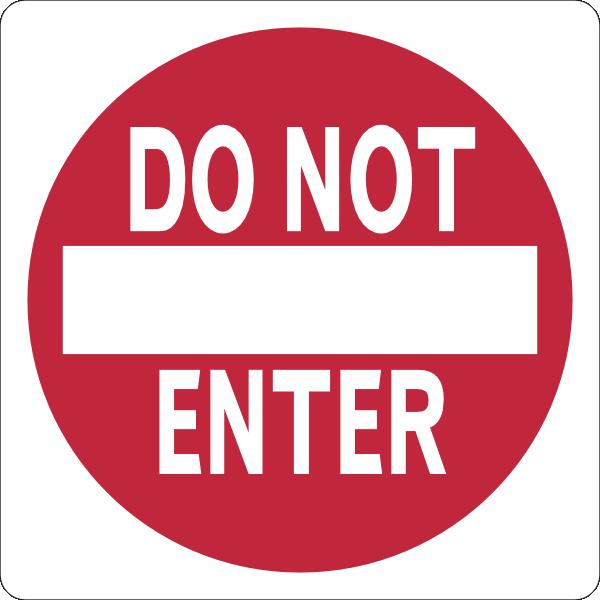 Stop Dot Not Enter Clip Art Free - ClipArt Best