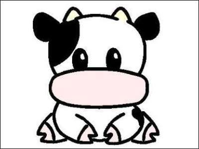 Cute Animated Cow - ClipArt Best