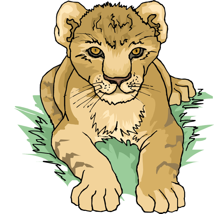 Cartoon Lion Cubs - ClipArt Best