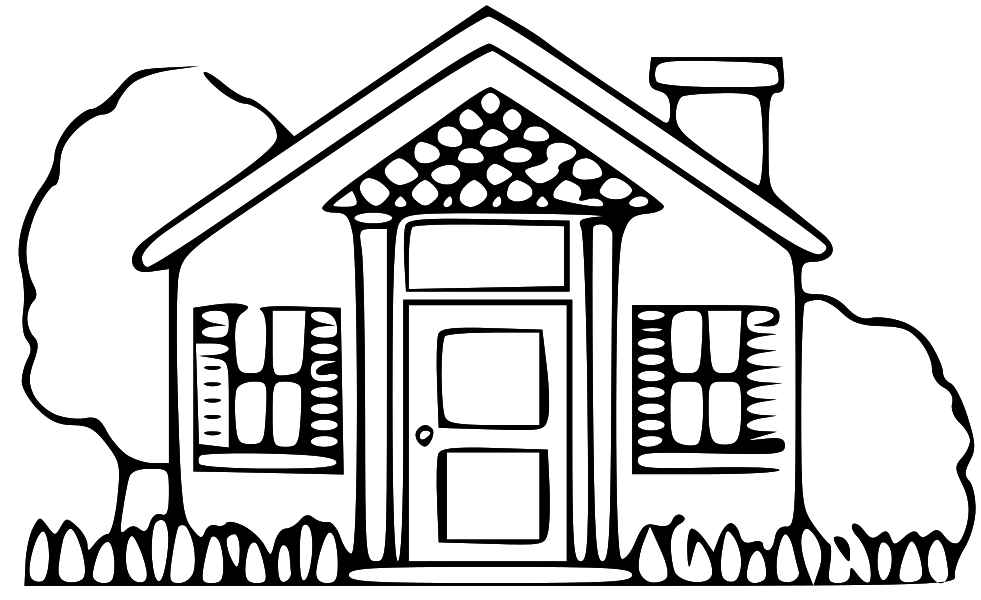 Picture Of A House Clipart