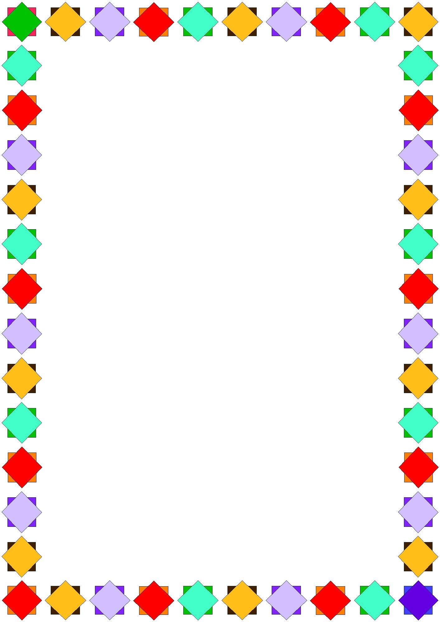 Preschool Border Clip Art - ClipArt Best