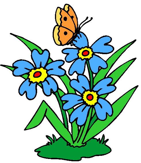 June Flowers Clip Art - ClipArt Best