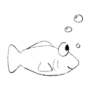 Free Fish Outline Clipart - ClipArt Best