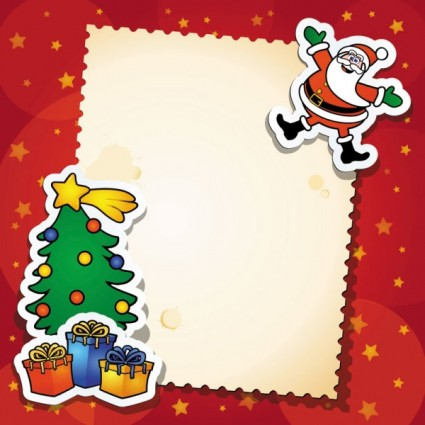 Vector christmas gift cards Free vector for free download (about ...