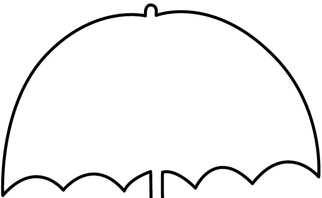 Clipart Umbrella Outline - ClipArt Best