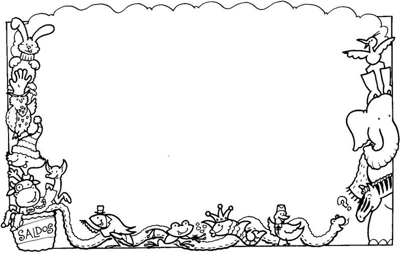 free picture frame coloring pages - photo#29
