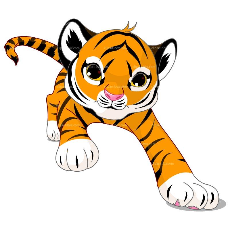 Cartoon Tiger - ClipArt Best