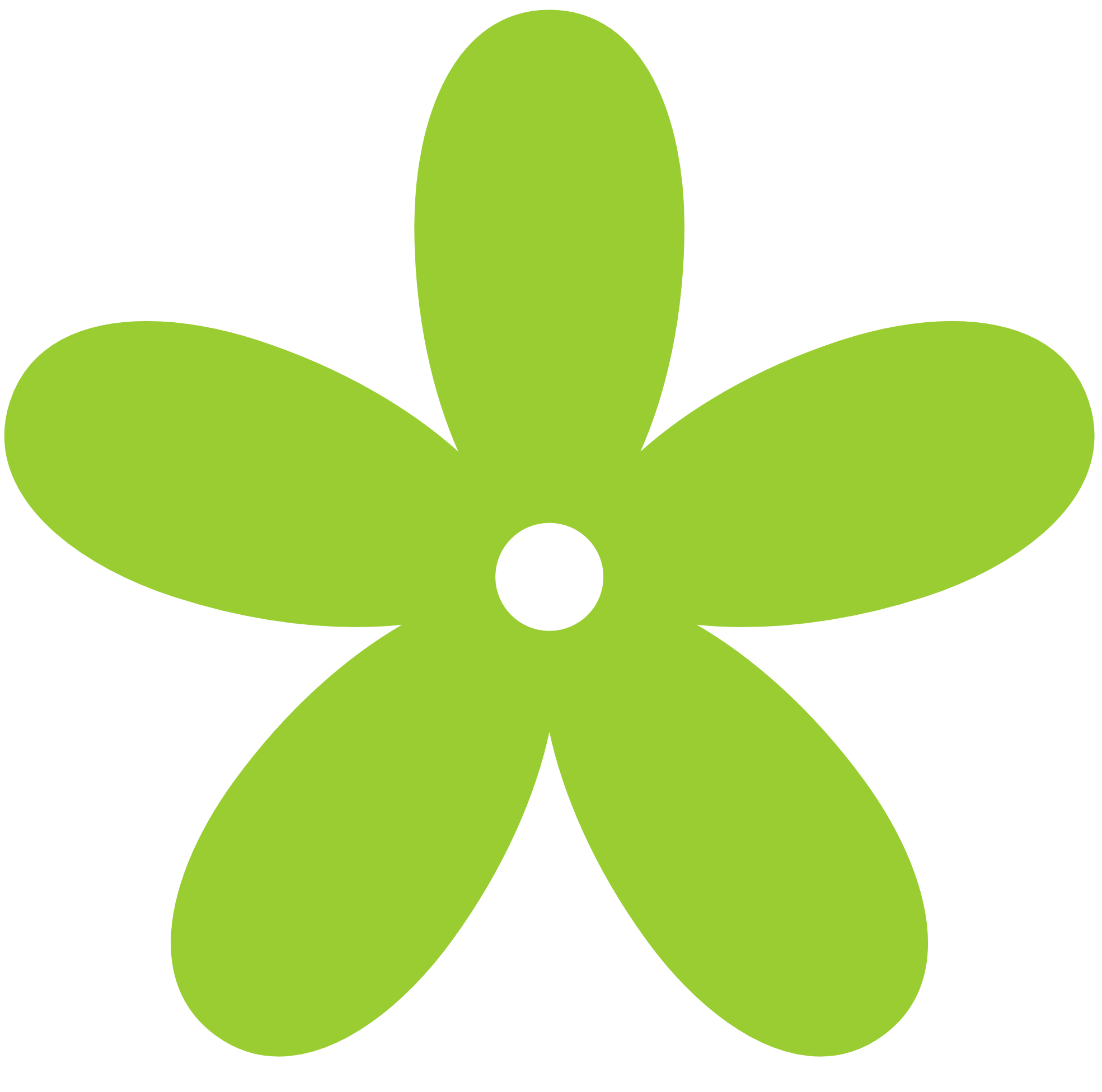 free green flower clipart - photo #1