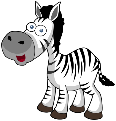 zebra baby clipart - photo #17