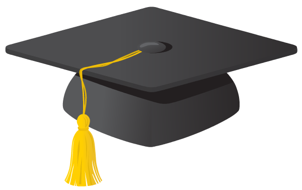 graduation hat clipart free - photo #3