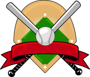 baseball clipart image baseball design of crossed bats Crossed Bats SVG Crossed Bats SVG