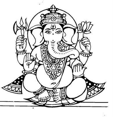 Ganesh Sketch Image - ClipArt Best