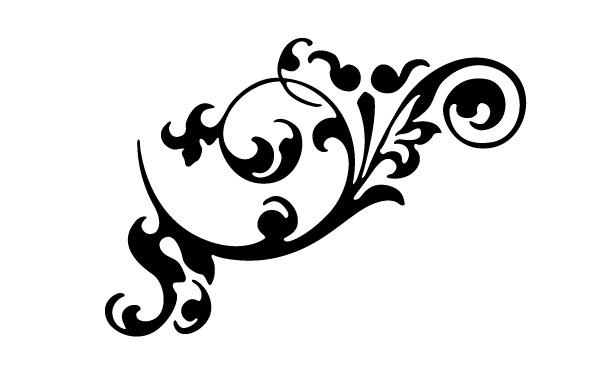 free vector clipart flourishes - photo #15